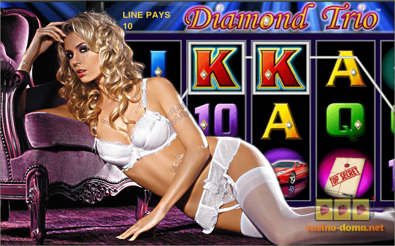 Игровой автомат Diamond Trio играть бесплатно без регистрации